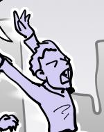 Tira 11 del webcomic de ilustrazombi
