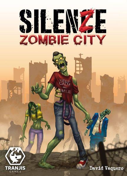 SilenZe: Zombie City (portada, imagen promocional de Tranjis)